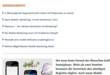 Warum die Zukunft Mobile Marketing heißt
