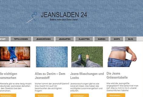 Jeansladen 24 – Das Jeansportal