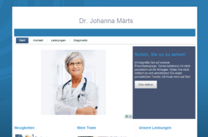 Webdesign Arzt