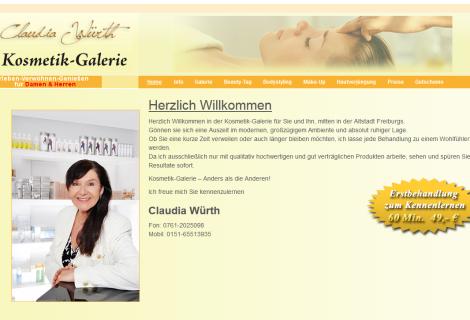 Kosmetik Galerie Claudia Würth