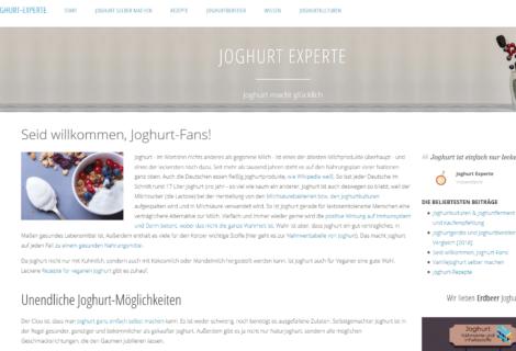 Joghurt Experte